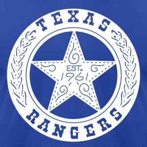 Texas Rangers Vintage t-shirt - Men's T-Shirt by American Apparel