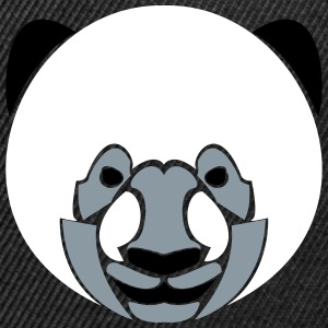 Panda Hat - Snap-back Baseball Cap