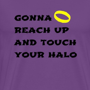 Simon Young Touching Halo's T Shirt - Men's Premium T-Shirt