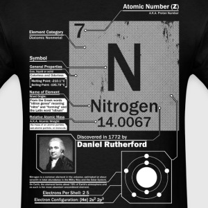 Nitrogen Element t shirt - Men's T-Shirt