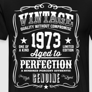 Vintage 1973 Aged to Perfection - Men's Premium T-Shirt