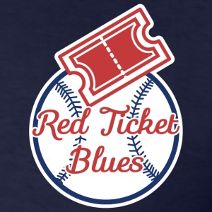 Red Ticket Blues Men's Gildan  T-Shirt   - Men's T-Shirt