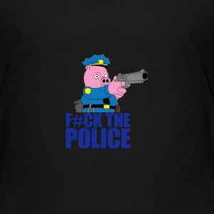 KIDS F@#K THE POLICE SHIRT - Kids' Premium T-Shirt
