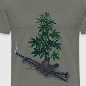 Casualties of Weed  - Men's Premium T-Shirt