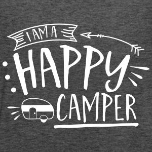 Im A Happy Camper - Women's Flowy Tank Top by Bella