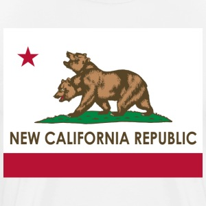 New California Republic T-Shirt - Men's Premium T-Shirt