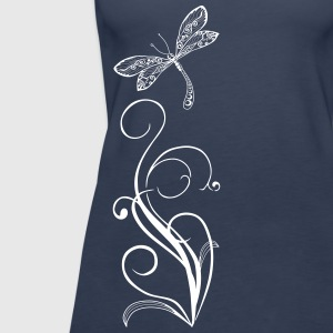 dragonfly again only Tanks - Women's Premium Tank Top