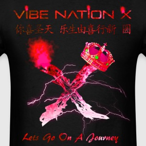 VibeNationX Ruby Red version (T-Shirt) - Men's T-Shirt