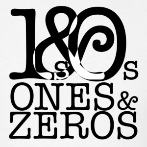 Ones and Zeros Front Logo Tee - Men's T-Shirt