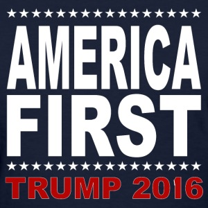 America-First-Trump-2016-3 - Women's T-Shirt