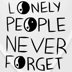 LONELY PEOPLE NEVER FORGET Caps - Bandana