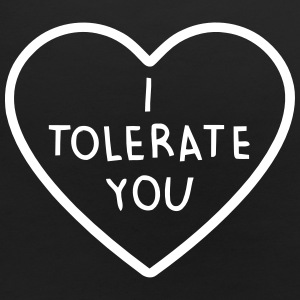 I TOLERATE YOU Baby Bibs - Baby Bib