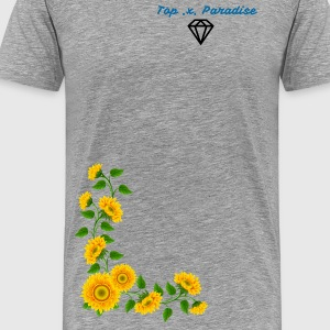 T-Shirt Sunflowers - Men's Premium T-Shirt