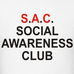 Social Awareness Club - Men's T-Shirt