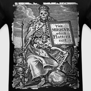 DEATH AS KING B&W OCCULT T-SHIRT - Men's T-Shirt