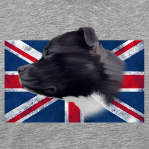 Staffbull UK grunge T-Shirts - Men's Premium T-Shirt