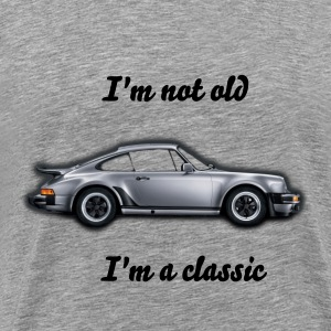 I'm Not Old I'm Classic   911 Turbo T-Shirt - Men's Premium T-Shirt
