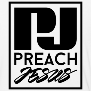Preach Jesus (BLK) - Baseball T-Shirt