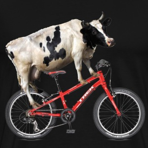 Bike Cow - Men's Premium T-Shirt