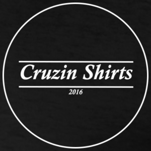 Mens Black T-shirt: Cruzin shirts - Men's T-Shirt