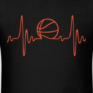 basketball) - heartbeat T-Shirt | Spreadshirt