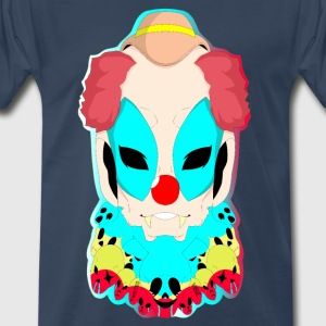 Twisted Vibe ( The Fear Clinging Clown ) - Men's Premium T-Shirt