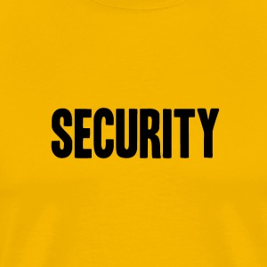 SECURITY Text Logo/Icon - Men's Premium T-Shirt