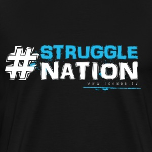 #StruggleNation (blue) - Men's Premium T-Shirt