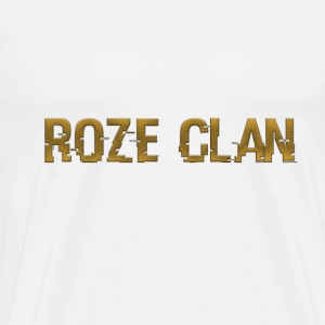 Exclusive Roze clan White Tee - Men's Premium T-Shirt