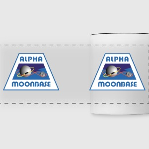 Moonbase Alpha Crest - Panoramic Mug
