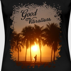 Good Vibrations - female - Women's Premium T-Shirt