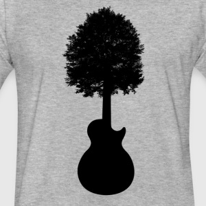 GuitarTree - Fitted Cotton/Poly T-Shirt by Next Level