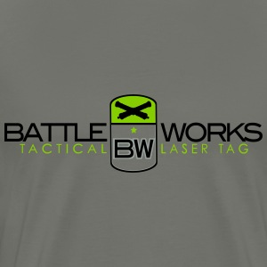 Battle Works Tactical Laser Tag  - Men's Premium T-Shirt