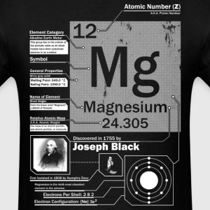 Magnesium Mg 12 Element t shirt - Men's T-Shirt