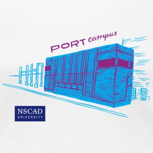 NSCAD Port Campus - Women's Premium T-Shirt