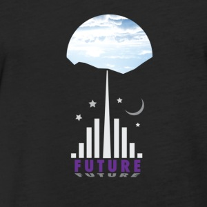 Future! - Fitted Cotton/Poly T-Shirt by Next Level