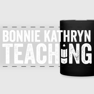Bonnie Kathryn Teaching Mug BLACK - Full Color Panoramic Mug