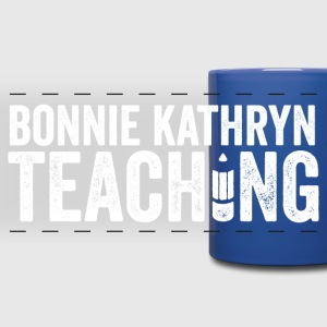 Bonnie Kathryn Teaching Mug BLUE - Full Color Panoramic Mug