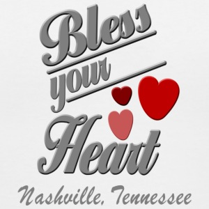Nashville Bless Your Heart Women's T-Shirts - Women's V-Neck T-Shirt