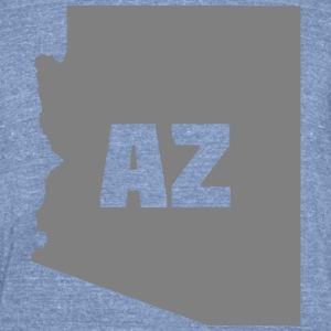 Arizona t-shirt - Unisex Tri-Blend T-Shirt by American Apparel