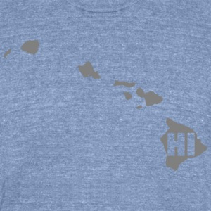 Hawaii t-shirt - Unisex Tri-Blend T-Shirt by American Apparel