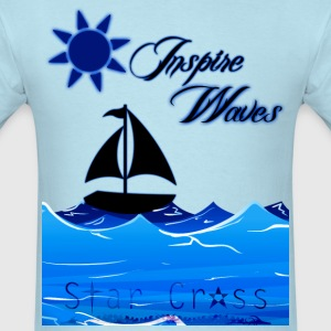 Inspire Waves Tee - Men's T-Shirt