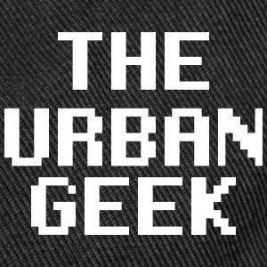 The Urban Geek Logo Sportswear - Snap-back Baseball Cap