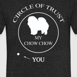 Funny Chow chow Dog - Unisex Tri-Blend T-Shirt by American Apparel