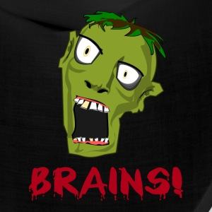 CRAZY GREEN ZOMBIE NEEDS BRAINS - Bandana