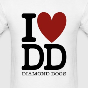 Metal Gear Solid - I Love Diamond Dogs - Men's T-Shirt