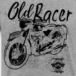 Old racer - Men's Premium T-Shirt