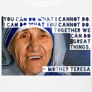 Salute Mother Teresa tee - Women's T-Shirt