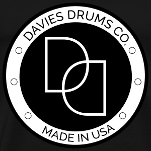 Davies Drums Co. Logo T-Shirt - Men's Premium T-Shirt
