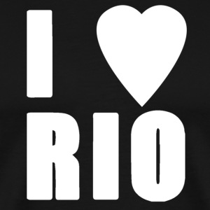 I LOVE RIO - Men's Premium T-Shirt